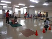 チャレンジ!体操教室①②(毎週月曜日)