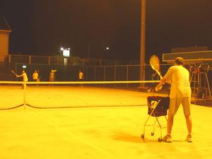 テニス教室(夜)