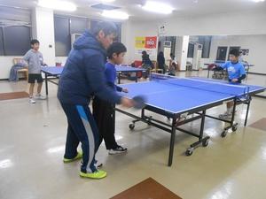 ジュニア卓球教室①