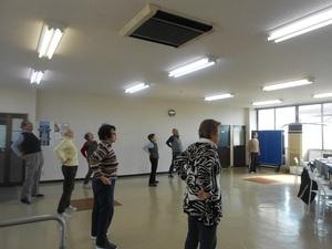 歌声健康体操教室